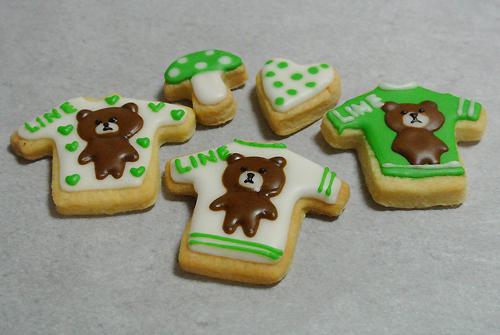 LINEアイシングクッキー