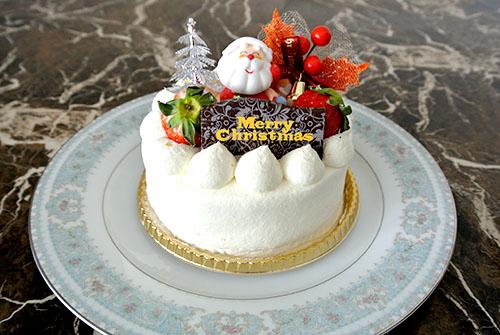 クリスマスケーキはショートケーキ♡