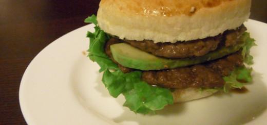 ハンバーガーを作ったよ!