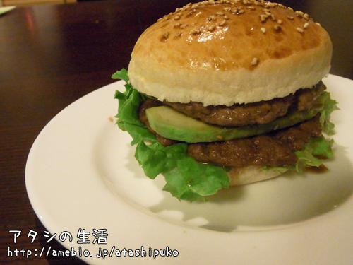ハンバーガー日和の週末☆バンズもパテも完全手作りハンバーガー!