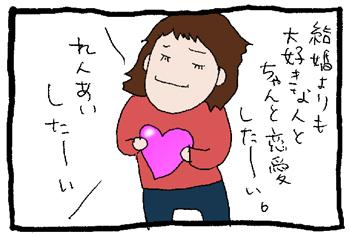 恋愛活動したいなと思うのです。