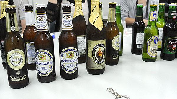 ドイツビールの数々!