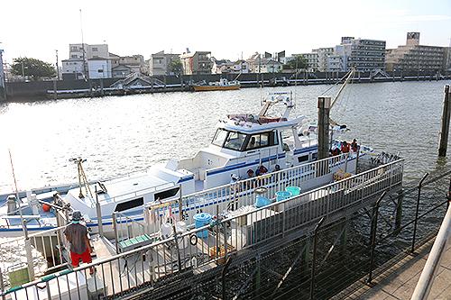 キス釣り船