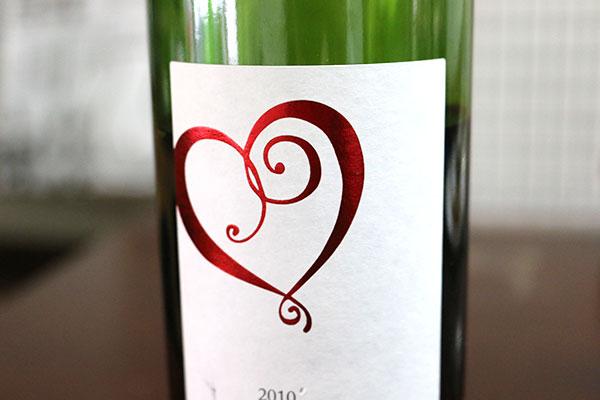 ジャケ買いの赤ワイン
