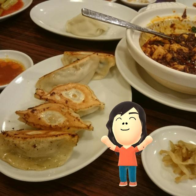 Miiフォトで餃子Day「独一処餃子」