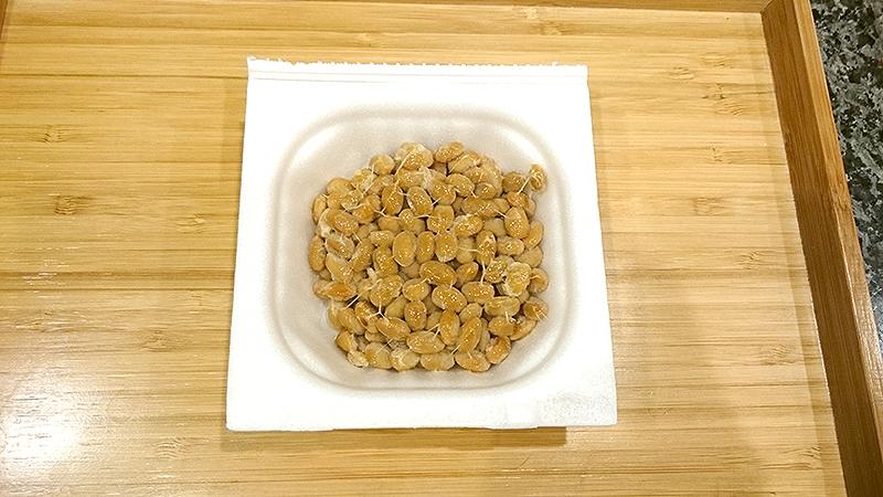 普通の納豆