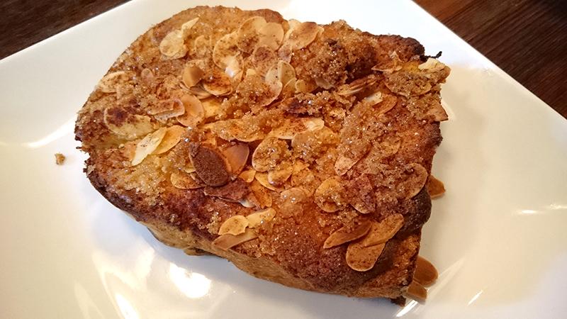 シナモンシュガーのフレンチトースト