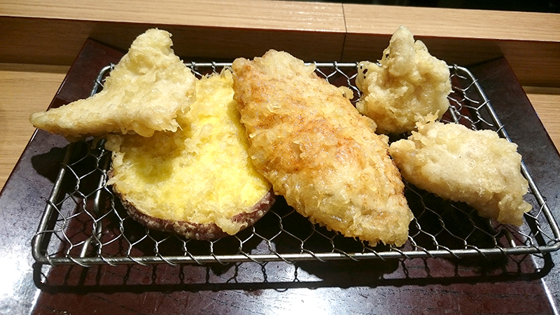 揚げたての天ぷら