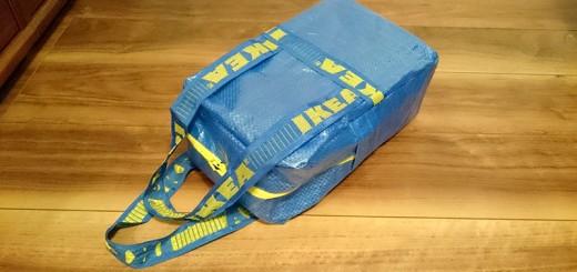 IKEAショッピングバッグリメイク
