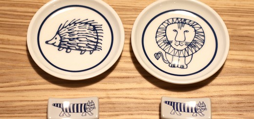 リサ・ラーソンの豆皿と箸置き