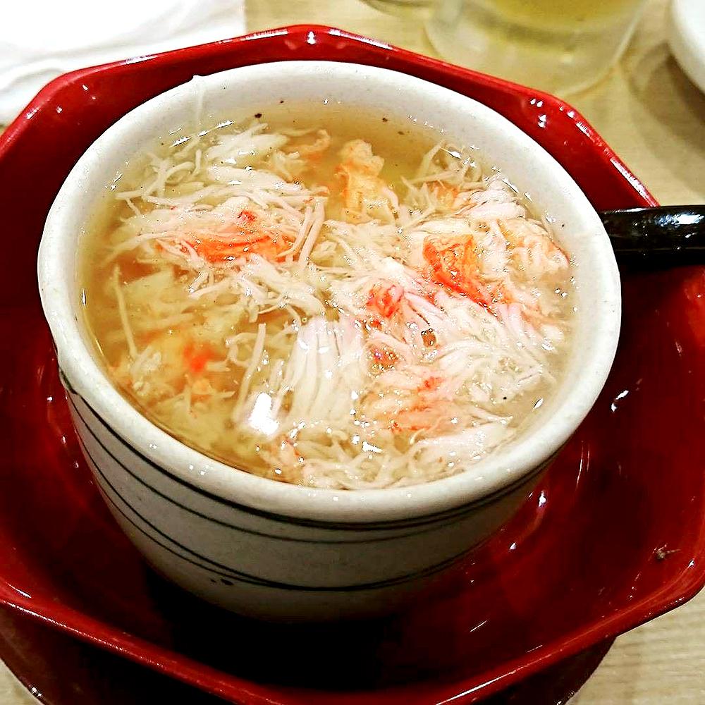 トリトン蟹たっぷりあんかけ茶碗蒸し