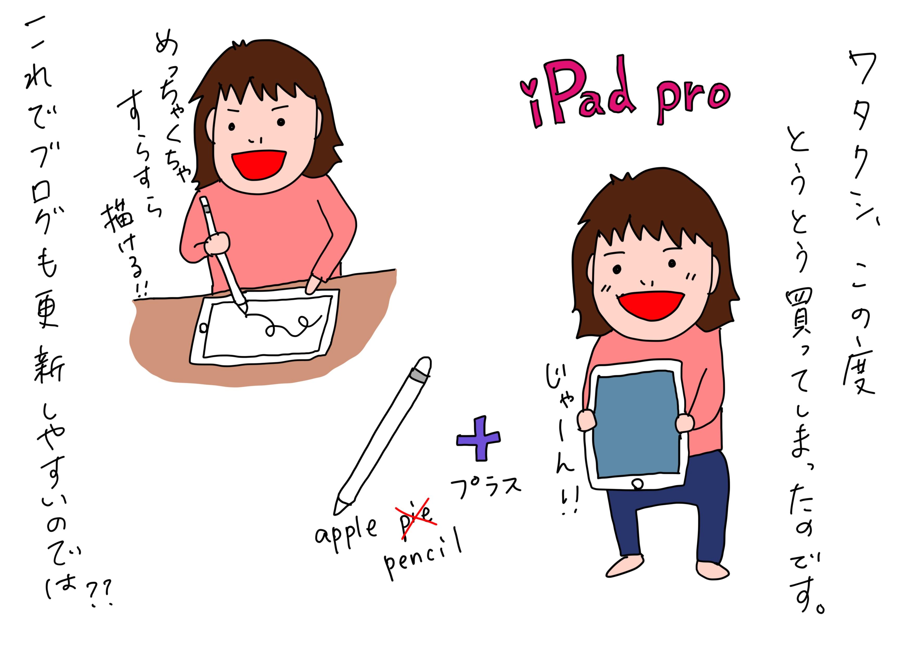 とうとうiPad Proを買ってしまったーー!