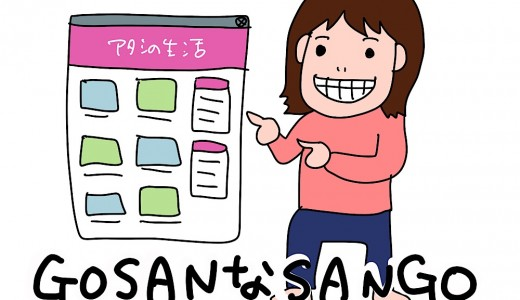 ブログテーマはGOSANなSANGO!